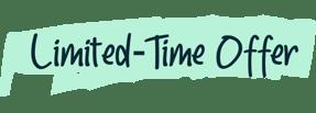 Limited-Time Offer Label